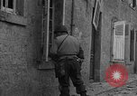 Image of damaged buildings Cherbourg Normandy France, 1944, second 18 stock footage video 65675051434