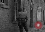 Image of damaged buildings Cherbourg Normandy France, 1944, second 20 stock footage video 65675051434