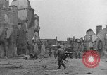 Image of damaged buildings Cherbourg Normandy France, 1944, second 23 stock footage video 65675051434