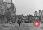 Image of damaged buildings Cherbourg Normandy France, 1944, second 24 stock footage video 65675051434