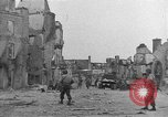 Image of damaged buildings Cherbourg Normandy France, 1944, second 25 stock footage video 65675051434