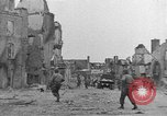 Image of damaged buildings Cherbourg Normandy France, 1944, second 26 stock footage video 65675051434
