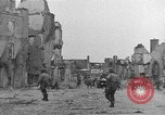 Image of damaged buildings Cherbourg Normandy France, 1944, second 27 stock footage video 65675051434