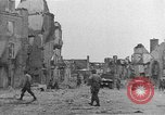 Image of damaged buildings Cherbourg Normandy France, 1944, second 28 stock footage video 65675051434