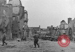 Image of damaged buildings Cherbourg Normandy France, 1944, second 29 stock footage video 65675051434