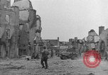 Image of damaged buildings Cherbourg Normandy France, 1944, second 30 stock footage video 65675051434