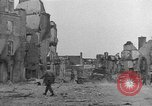Image of damaged buildings Cherbourg Normandy France, 1944, second 31 stock footage video 65675051434