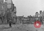 Image of damaged buildings Cherbourg Normandy France, 1944, second 32 stock footage video 65675051434
