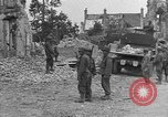Image of damaged buildings Cherbourg Normandy France, 1944, second 34 stock footage video 65675051434