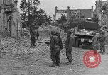 Image of damaged buildings Cherbourg Normandy France, 1944, second 35 stock footage video 65675051434
