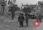 Image of damaged buildings Cherbourg Normandy France, 1944, second 40 stock footage video 65675051434