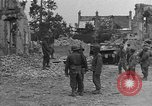 Image of damaged buildings Cherbourg Normandy France, 1944, second 42 stock footage video 65675051434