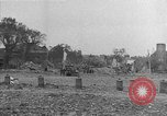 Image of damaged buildings Cherbourg Normandy France, 1944, second 44 stock footage video 65675051434