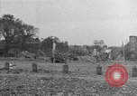 Image of damaged buildings Cherbourg Normandy France, 1944, second 45 stock footage video 65675051434