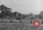 Image of damaged buildings Cherbourg Normandy France, 1944, second 46 stock footage video 65675051434