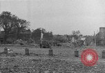 Image of damaged buildings Cherbourg Normandy France, 1944, second 47 stock footage video 65675051434