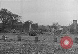 Image of damaged buildings Cherbourg Normandy France, 1944, second 48 stock footage video 65675051434