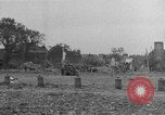 Image of damaged buildings Cherbourg Normandy France, 1944, second 49 stock footage video 65675051434