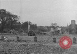 Image of damaged buildings Cherbourg Normandy France, 1944, second 50 stock footage video 65675051434