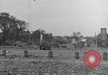 Image of damaged buildings Cherbourg Normandy France, 1944, second 51 stock footage video 65675051434