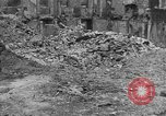 Image of damaged buildings Cherbourg Normandy France, 1944, second 52 stock footage video 65675051434