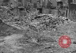 Image of damaged buildings Cherbourg Normandy France, 1944, second 53 stock footage video 65675051434