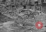 Image of damaged buildings Cherbourg Normandy France, 1944, second 54 stock footage video 65675051434