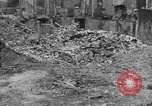Image of damaged buildings Cherbourg Normandy France, 1944, second 55 stock footage video 65675051434