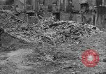 Image of damaged buildings Cherbourg Normandy France, 1944, second 56 stock footage video 65675051434