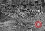 Image of damaged buildings Cherbourg Normandy France, 1944, second 57 stock footage video 65675051434