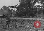 Image of damaged buildings Cherbourg Normandy France, 1944, second 58 stock footage video 65675051434