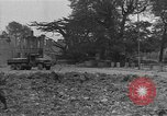 Image of damaged buildings Cherbourg Normandy France, 1944, second 60 stock footage video 65675051434