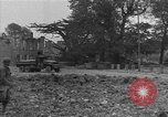 Image of damaged buildings Cherbourg Normandy France, 1944, second 61 stock footage video 65675051434
