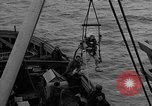 Image of Allied diver Atlantic Ocean, 1944, second 18 stock footage video 65675051435