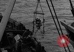 Image of Allied diver Atlantic Ocean, 1944, second 22 stock footage video 65675051435