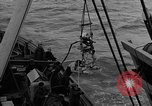 Image of Allied diver Atlantic Ocean, 1944, second 28 stock footage video 65675051435