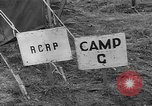 Image of American Army Camp in England United Kingdom, 1943, second 17 stock footage video 65675051442