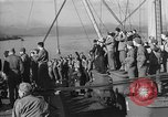 Image of American troop ships arriving in English waters after crossing the Atlantic United Kingdom, 1944, second 7 stock footage video 65675051448