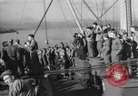 Image of American troop ships arriving in English waters after crossing the Atlantic United Kingdom, 1944, second 9 stock footage video 65675051448