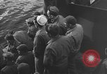 Image of American troop ships arriving in English waters after crossing the Atlantic United Kingdom, 1944, second 20 stock footage video 65675051448