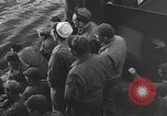Image of American troop ships arriving in English waters after crossing the Atlantic United Kingdom, 1944, second 24 stock footage video 65675051448