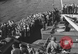 Image of American troop ships arriving in English waters after crossing the Atlantic United Kingdom, 1944, second 25 stock footage video 65675051448