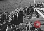 Image of American troop ships arriving in English waters after crossing the Atlantic United Kingdom, 1944, second 26 stock footage video 65675051448