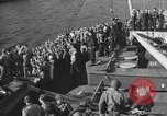 Image of American troop ships arriving in English waters after crossing the Atlantic United Kingdom, 1944, second 27 stock footage video 65675051448