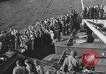 Image of American troop ships arriving in English waters after crossing the Atlantic United Kingdom, 1944, second 28 stock footage video 65675051448