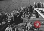 Image of American troop ships arriving in English waters after crossing the Atlantic United Kingdom, 1944, second 29 stock footage video 65675051448