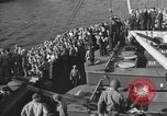 Image of American troop ships arriving in English waters after crossing the Atlantic United Kingdom, 1944, second 30 stock footage video 65675051448