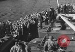Image of American troop ships arriving in English waters after crossing the Atlantic United Kingdom, 1944, second 31 stock footage video 65675051448