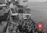 Image of American troop ships arriving in English waters after crossing the Atlantic United Kingdom, 1944, second 35 stock footage video 65675051448