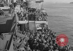Image of American troop ships arriving in English waters after crossing the Atlantic United Kingdom, 1944, second 36 stock footage video 65675051448